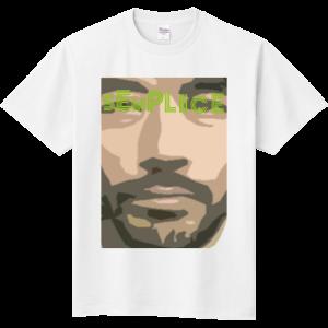 目立つ フェイス Tシャツ!