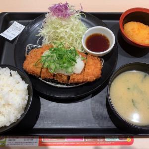 【食べ歩き】おろしロースカツ定食 ワンコインフェア@松のや 愛知県