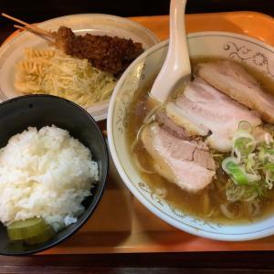 【ラーメン ノス系】名古屋の味 ラーメン定食@平和園 名古屋市 昭和区
