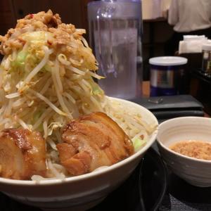 【ラーメン大盛】大ラーメン 上級者用 450g 野菜アブラマシマシ@ラーメン元 名古屋市天白区