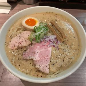 【ラーメン】極濃 鶏白湯らーめん 特盛@らーめん専門店 拉の刻 名古屋市中村区