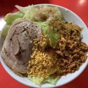 【ラーメン】背脂麺 @ラーメン豚 名古屋市中村区