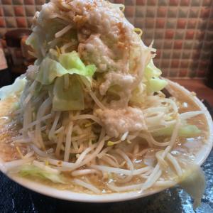 【ラーメン大盛】ラーメン特盛 野菜マシマシアブラマシマシ@てるてる坊主 名古屋市北区