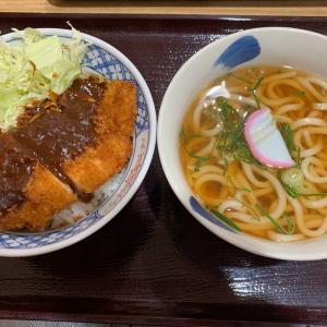 【食べ歩き】みそカツ丼+うどんセット 大大@ほなみ 名古屋市守山区