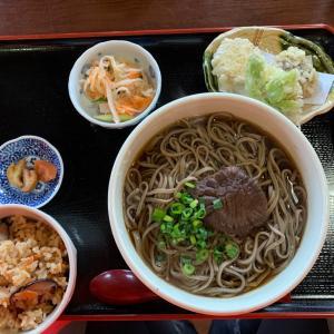 【食べ歩き】かけそば定食 大盛@そば処やまびこ 愛知県新城市