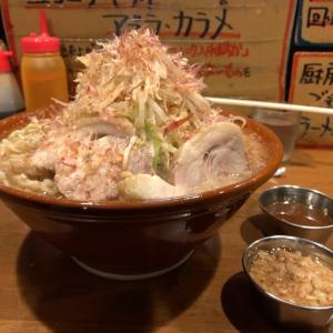 【ラーメンデカ盛】塩ラーメン 麺増800g @歴史を刻め 新栄 名古屋市中区