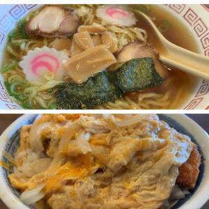 【食べ歩き】ラーメン+カツ丼@平安食堂 愛知県高浜市