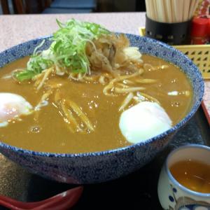 【食べ歩き】冷やしころカレーうどん 中盛@立食いめん処 吉野屋 名古屋市中区