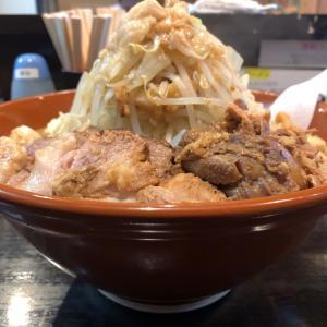 【ラーメンデカ盛】ラーメン大 麺増(750g)豚増@麺屋 豚他 名古屋市瑞穂区