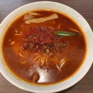 【激辛】激辛ラーメン+ライス@麺屋 あきのそら 愛知県岡崎市