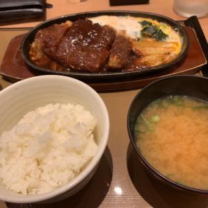【食べ歩き】味噌カツ煮定食 @やよい軒 名古屋市守山区