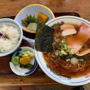 【ラーメン】中華そば定食 @やまびこ 愛知県豊田市