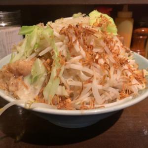 【ラーメン大盛】汁なし(胡椒)@立川マシマシ9号店 名古屋市西区