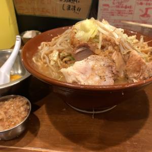 【ラーメンデカ盛】ラーメン 麺増700g +生玉子@歴史を刻め 新栄店 名古屋市中区