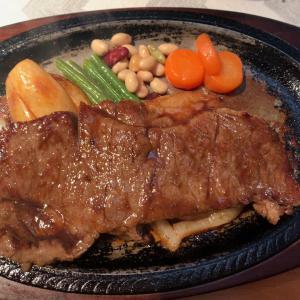 【食べ歩き】和牛サーロインステーキ@カフェレスト いのうえ 愛知県岡崎市