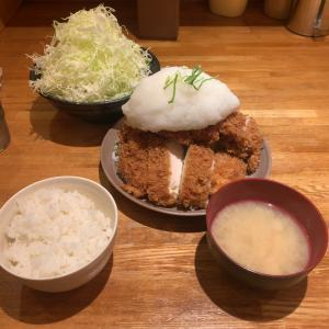 【パセリ】おろしチキンカツ定食 L +キャベツ@洋食工房パセリ 名古屋市天白区