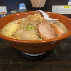 【ラーメン大盛】ラーメン大 麺増(750g)+味玉@麺屋 豚他 名古屋市瑞穂区