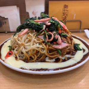 【食べ歩き】ポパイ 3.5人前(1kg)チーズトッピング@あんかけ家 植田店 名古屋市天白区