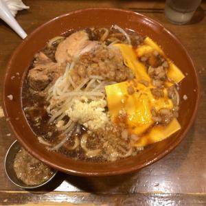 【ラーメン大盛】ラーメン500g チーズ×2@歴史を刻め 新栄 名古屋市中区