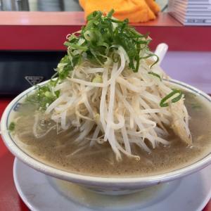 【ラーメン】大盛ラーメン 野菜多め麺固め @ラーメン福 小幡店 名古屋市守山区