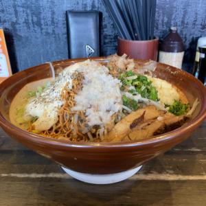 【ラーメン大盛】ジャンクなまぜそば 麺増×3@麺屋GOO 豊田市