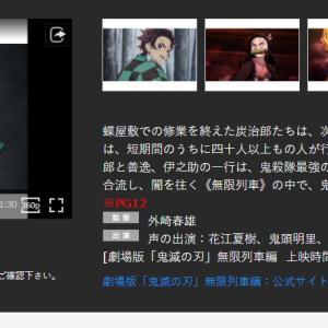 MX4D 鬼滅の刃 映画