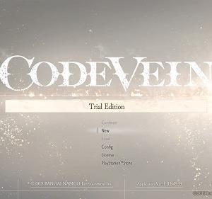 CODE VEINの体験版をプレイしてみた感想【ネタバレあり】