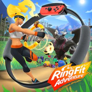 「リングフィットアドベンチャー」Switchでゲームをしながら体を動かそう!!