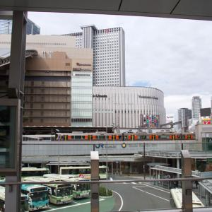 大阪梅田界隈 開業間近のヨドバシ梅田タワー・工事中の阪神百貨店