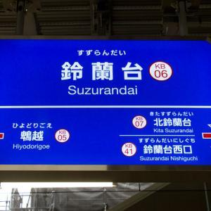 関西駅巡り(21)神戸電鉄鈴蘭台駅