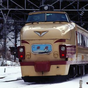2002年新疋田駅 北陸特急とJTあすか