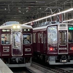 阪急8006F準急・8002F特急 等