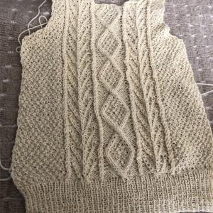 セーター進捗状況
