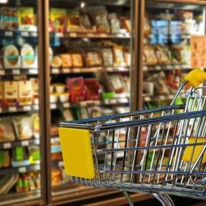 外出自粛するためにイオンネットスーパーを利用することにした。文房具も医薬品も食品と一緒に買えて便利。