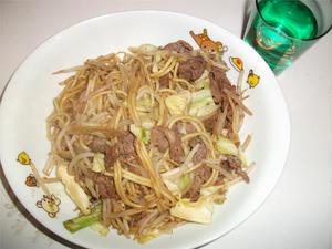 今夜の1食目 (^ω^)