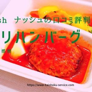 【34食完食レポート】noshナッシュの口コミ評判 チリハンバーグを食べた感想