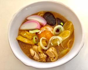 今日のお昼ご飯は、【寿がきや 味噌煮込み うどん】簡単で美味しい♡