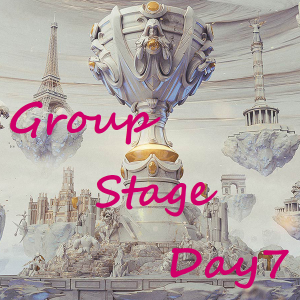 Worlds2019 Group Stage Day7【対戦結果まとめ】
