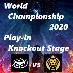 Worlds2020 Play-in Knockout Stage SUP vs MAD 【対戦結果まとめ】