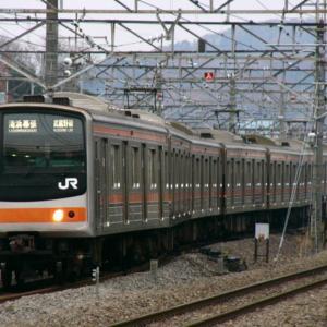【ちょっと昔・JR東日本】205系・千ケヨM61編成【2004年】