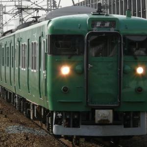 【ちょっと昔・JR西日本】113系・近ミハS34編成【2011年】