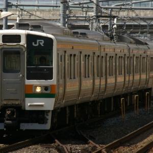 【ちょっと昔・JR東日本】211系・高タカC15編成【2009年】