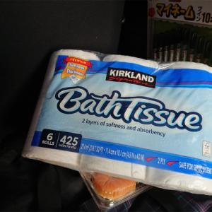 コストコのトイレットペーパーがちょうど良いサイズで売っていた♪