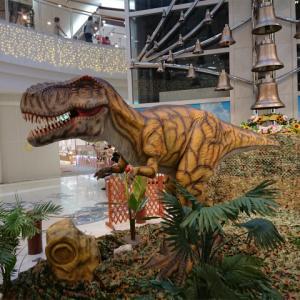 ベルモールに恐竜パークが出現
