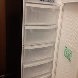 冷凍庫到着!設置してみたら予想以上に良い!