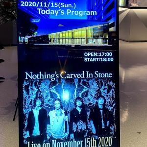 【Nothing's Carved In Stone】Live on November 15th 2020@KT Zepp Tokyo