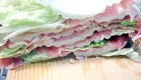 色々な味が楽しめる豚バラ肉と白菜のミルフィーユとそのバリエーション