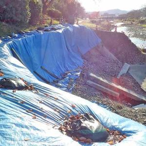 南浅川サイクリングロードで台風19号の影響で不通過ヶ所あり!