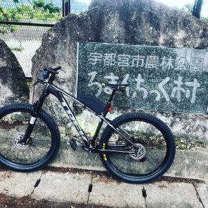 初めてのオフロードコース走行 ( 宇都宮 道の駅 ろまんちっく村 (無料コース))