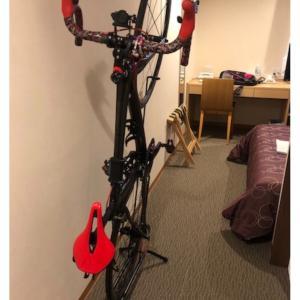 自転車を部屋まで持ち込めるホテル(3連泊 その①)